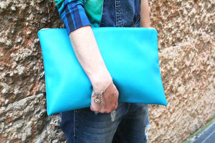 The light blue clutch-49052-fashionamy