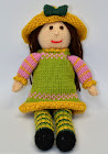 Spring Doll Knitting Pattern