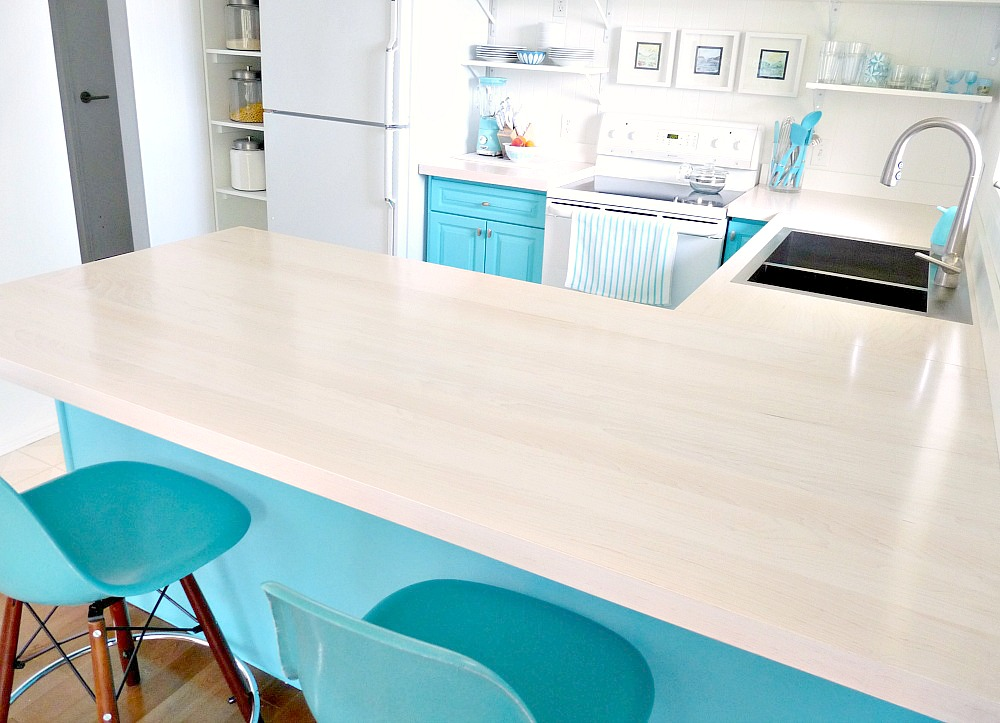 DIY Solid Wood Counters