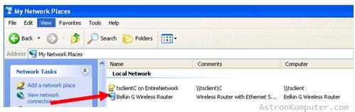Router Windows xp