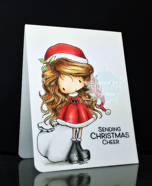 Tiddly Inks, Kecia Waters, Copic markers, Christmas