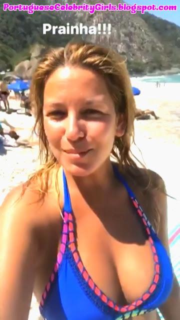 VANESSA OLIVEIRA DE BIKINI EM PRAIA DO BRASIL COM VDEO