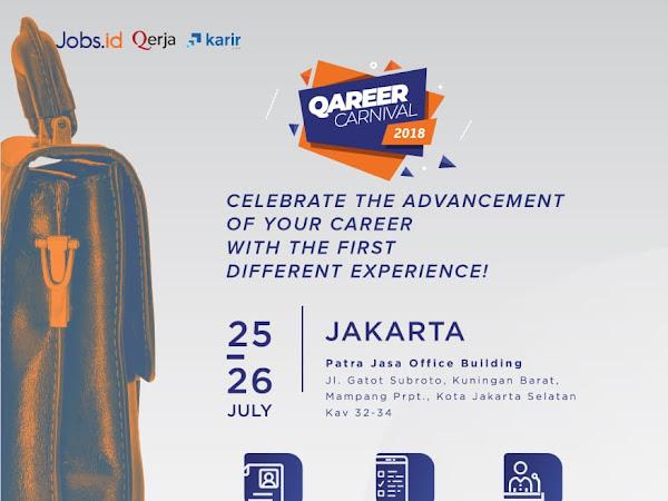 Informasi Lengkap Job Fair Qareer Carnival 2018