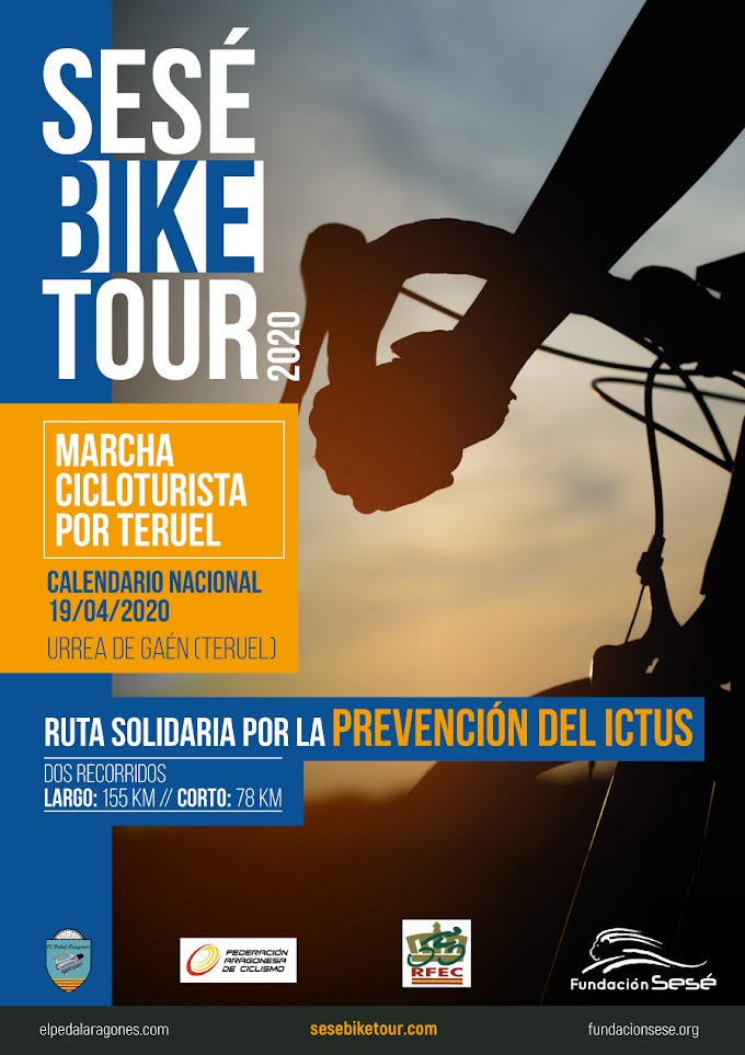 Últimas plazas para la Sesé Bike Tour 2020