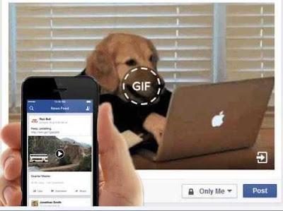 Đăng ảnh động-Gif lên facebook bằng PC và Mobile
