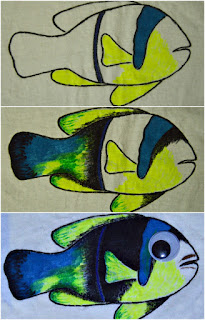 How to color the fish