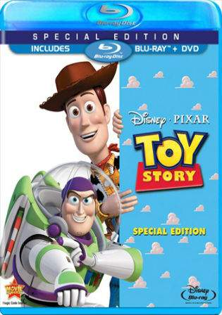 Toy Story 1995 BRRip 250MB Hindi Dual Audio 480p Watch Online Full Movie Download bolly4u