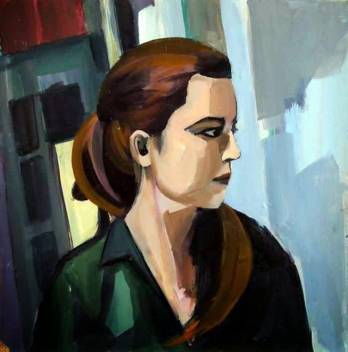 Южнокорейская художница. Hyunju Kim