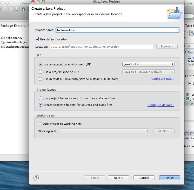 OpenCV 2 4 9,Java, Eclipse Set up | Node JS Tutorials, Social