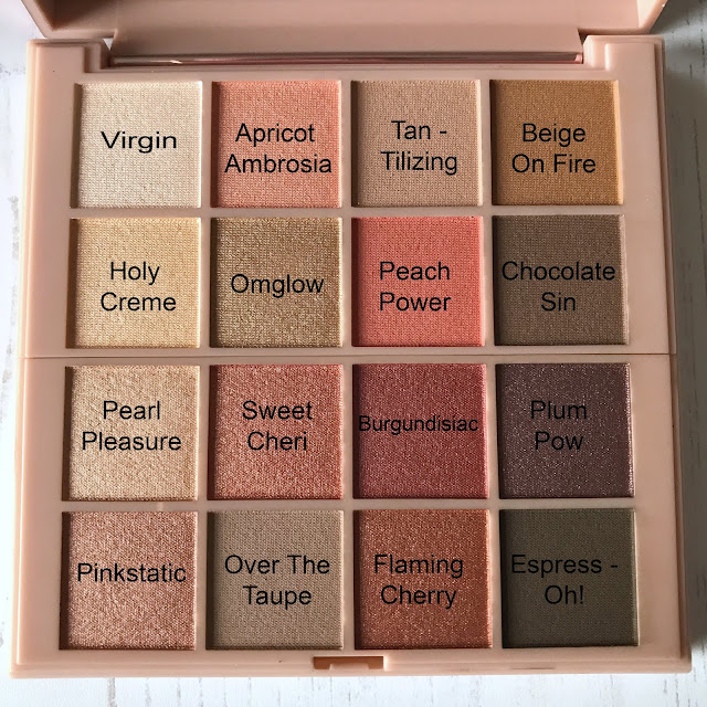 The L'Oreal Cherry My Cheri Eyeshadow Mega Palette And Swatches