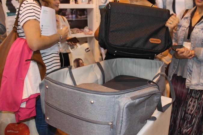 Bolso convertible en capazo de viaje - Babymoov - Puericultura Madrid 2017
