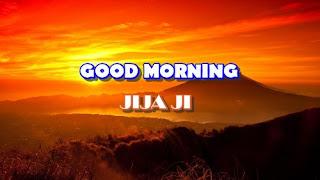 good morning jijaji image