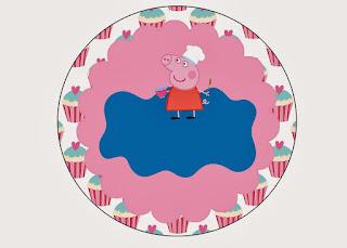 Kit de Peppa Pig Cocinera para Imprimir Gratis.