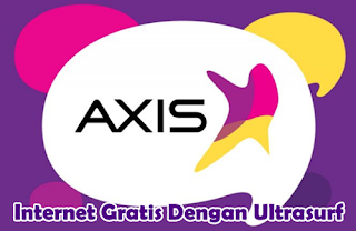 Cara Internet Gratis Axis di PC