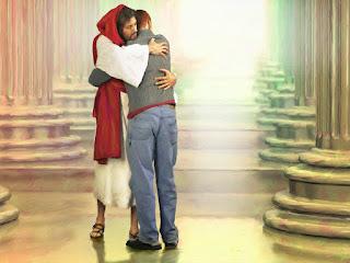 O Abraço de Jesus