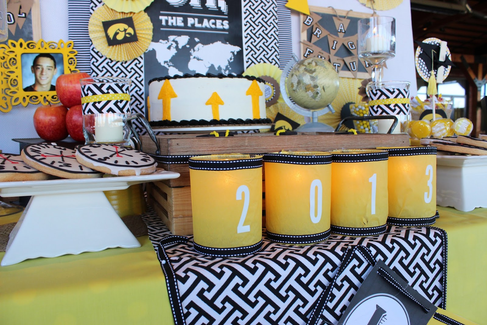 Charming Touch Parties: Oh The Places He'll Go