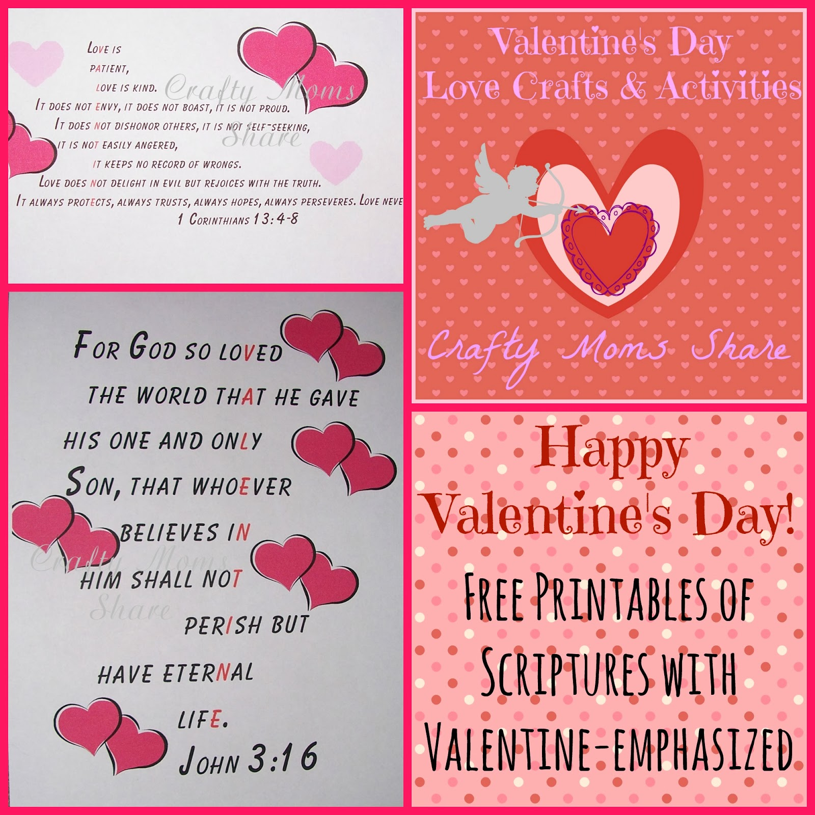 16 Valentine S Day Quotes To Share The Love: Crafty Moms Share: Free Valentine-Emphasized Scripture