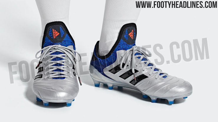 newest 16d7f b4930 Pure Class Silver Adidas Copa 18 Team Mode Boots Leaked - Footy Headlines