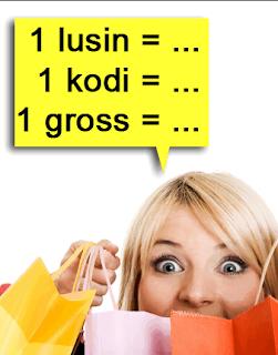 Contoh Soal Satuan Ukuran Jumlah Lusin, Gross, Rim, dan Kodi Penyelesaian