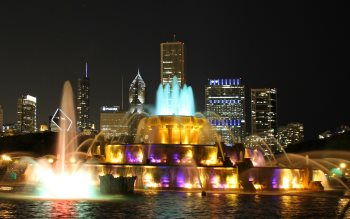 Wallpaper: Buckingham Fountain
