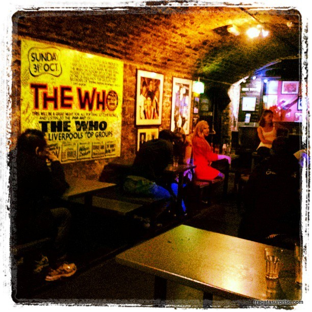 The Cavern Club, Liverpool, Inglaterra