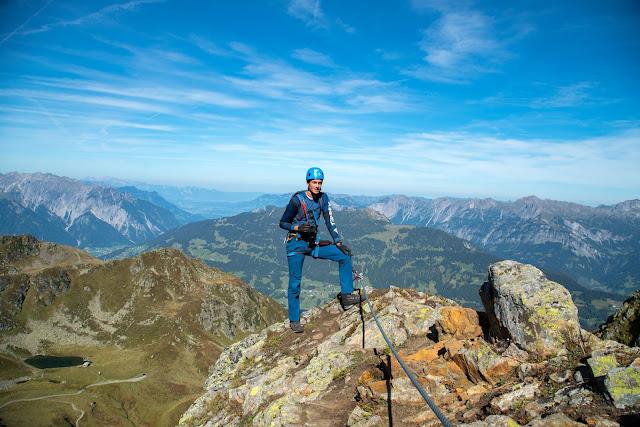 Seetalwanderung und Klettersteig Hochjoch  Silvretta Montafon 06
