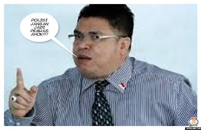 Razman: Polisi jangan jadi Pemuas Ahok!!!