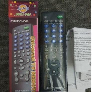 Điều khiển đa năng tivi Chunghop giá rẻ