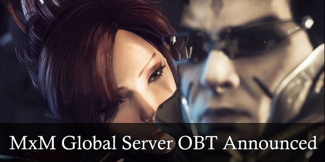 Master x Master - Global Server OBT Announced