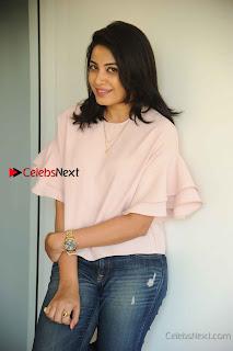 Kannada Tamil Actress Kavya Shetty Stills in Jeans at Silicon City Movie Press Meet  0008.jpg