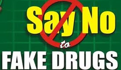 No to fake drugs