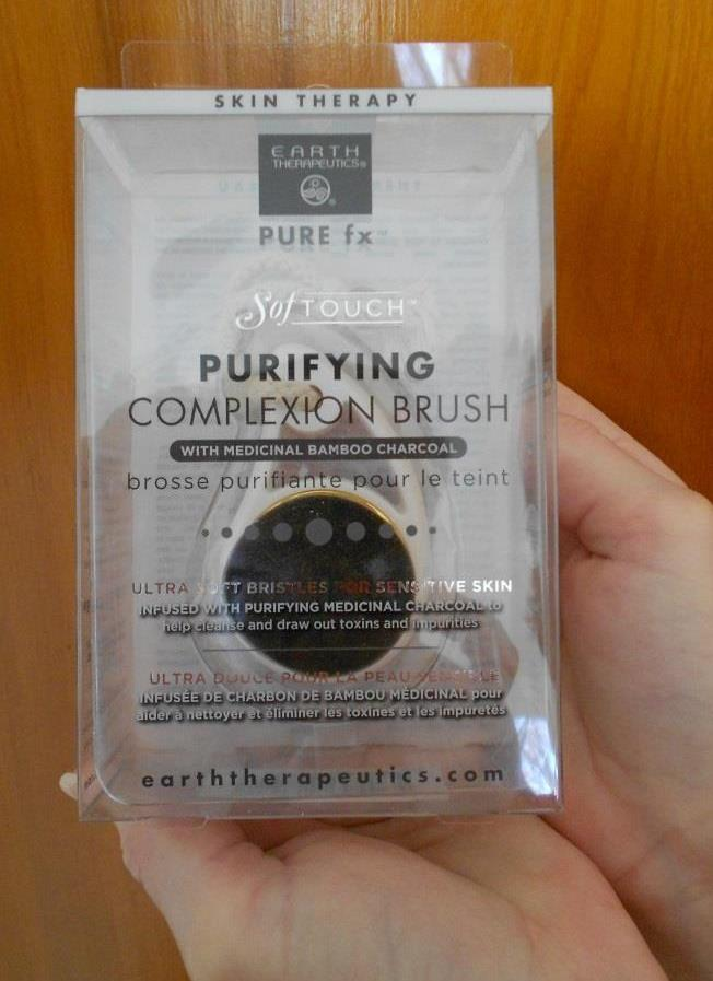 SofTOUCH Purifying Charcoal Complexion Brush