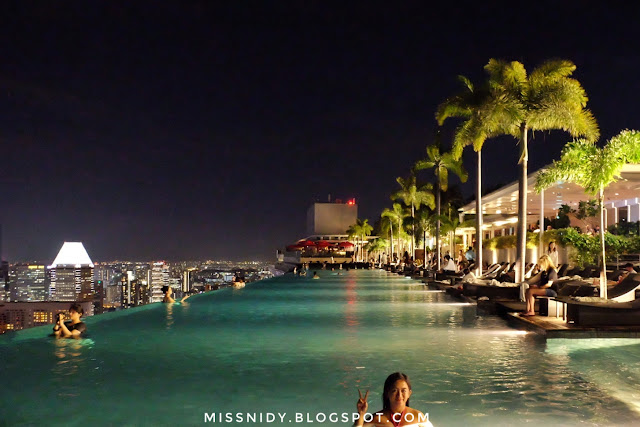 infinity pool marina bay sands hotel
