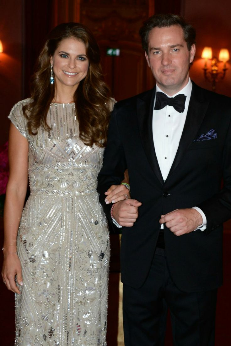 King Carl Gustaf and Queen Silvia hosted a private gala dinner at Grand Hotel for Princess Madeleine's  wedding