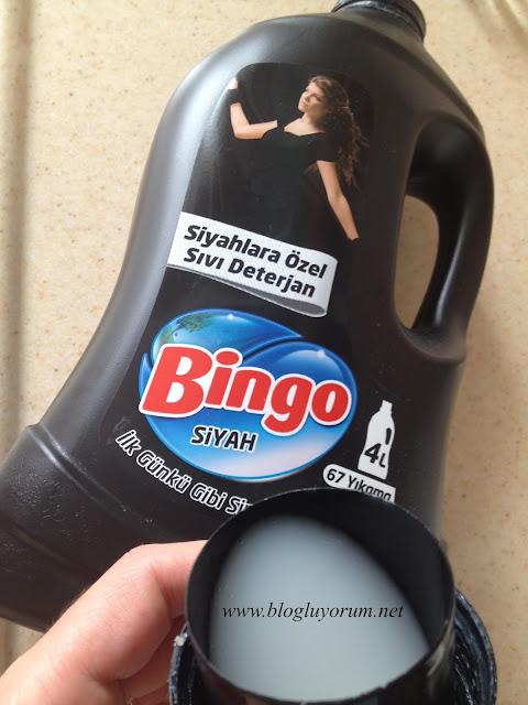 Bingo siyah sıvı deterjan incelemesi
