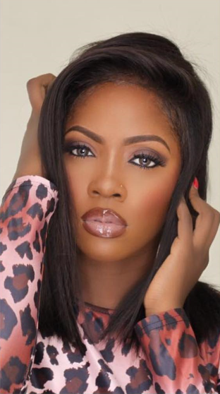 Sultry makeup photo of Tiwa Savage