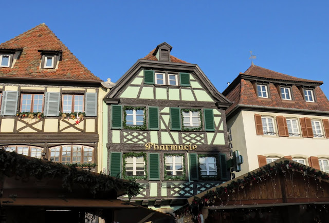 Christmas Market in Obernai France