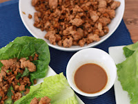chìcken lettuce wraps (gf, df, paleo, whole30)