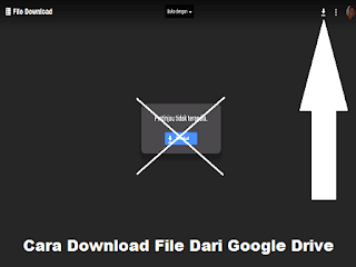 Cara Download File Dari Google Drive