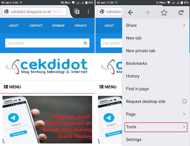 Cara Memblokir Iklan Pop Up di Hp Android