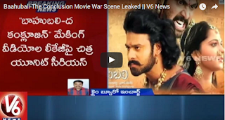 Baahubali-The Conclusion Movie War Scene Leaked