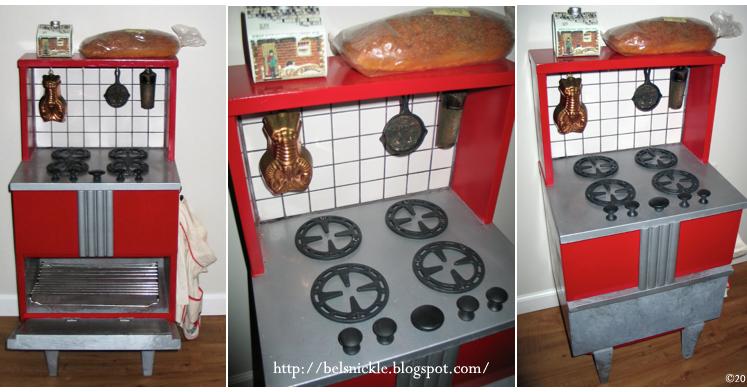 Vintage DIY Play Kitchen Stove Top Oven Belznickle Blogspot Vintage