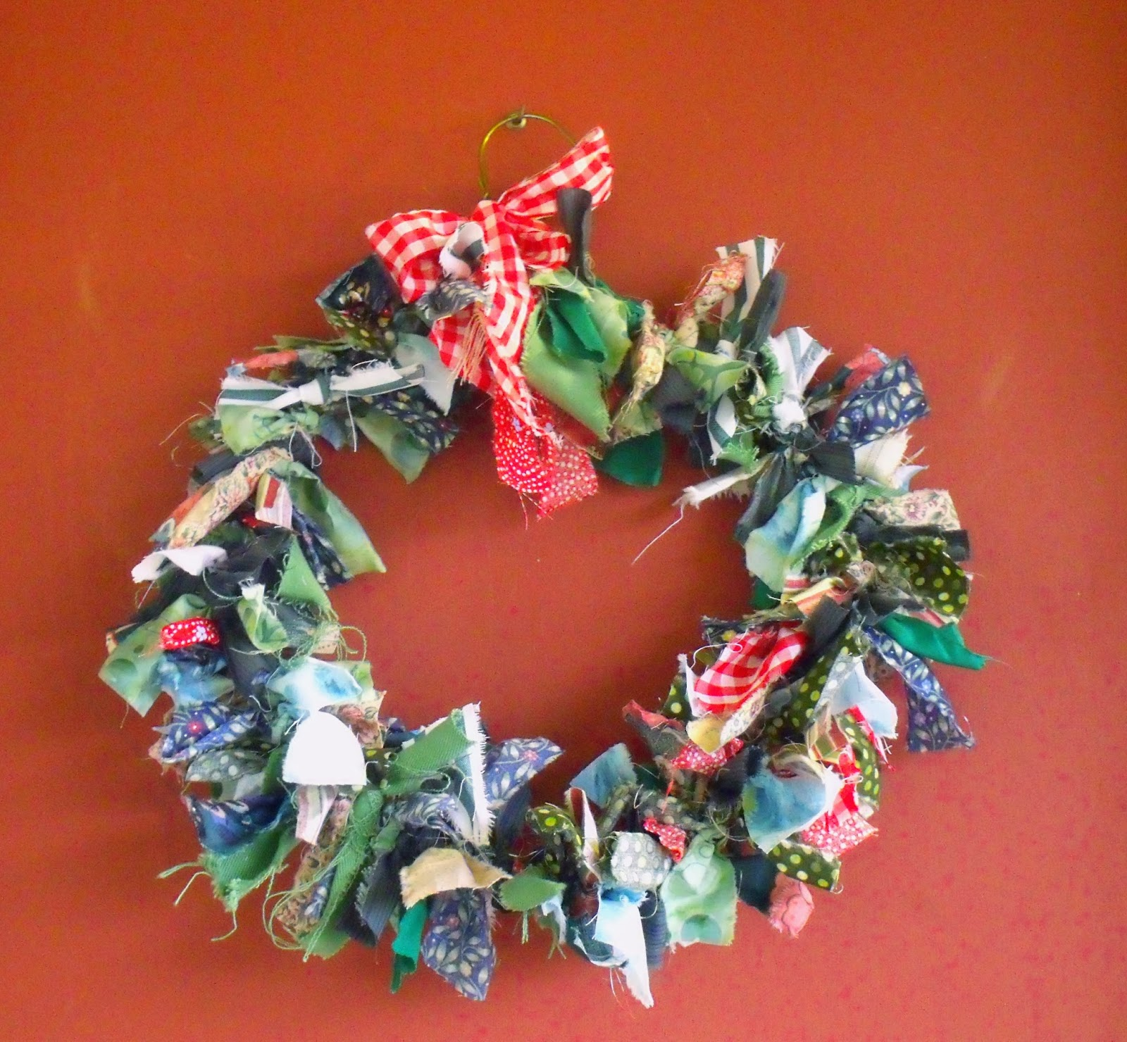 Tales From Dorry Diy No Fuss Christmas Wreath