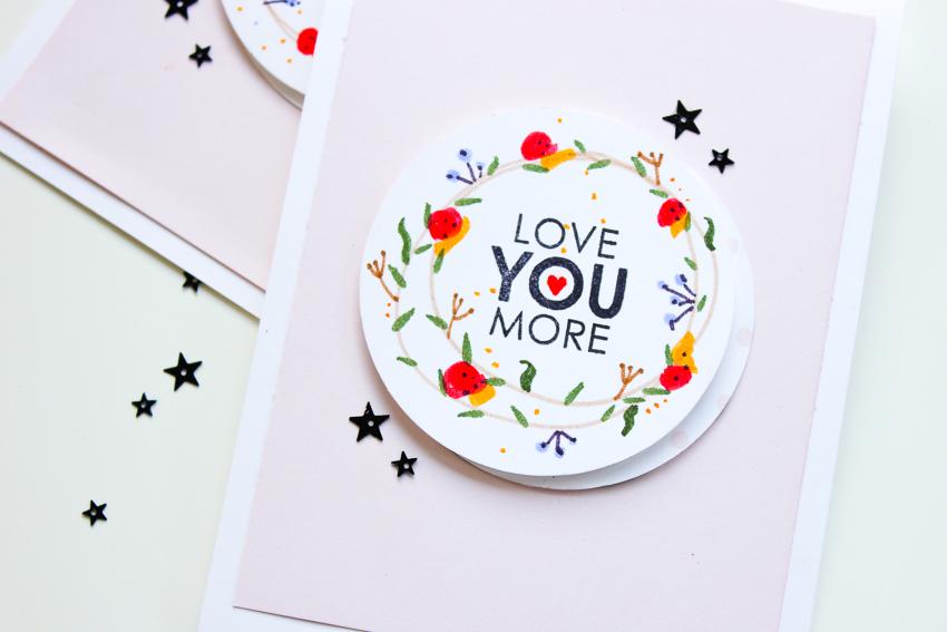 easy hand drawn floral wreath | gemalter Blumenkranz | Felicity Jane + Tombow | Janna Werner
