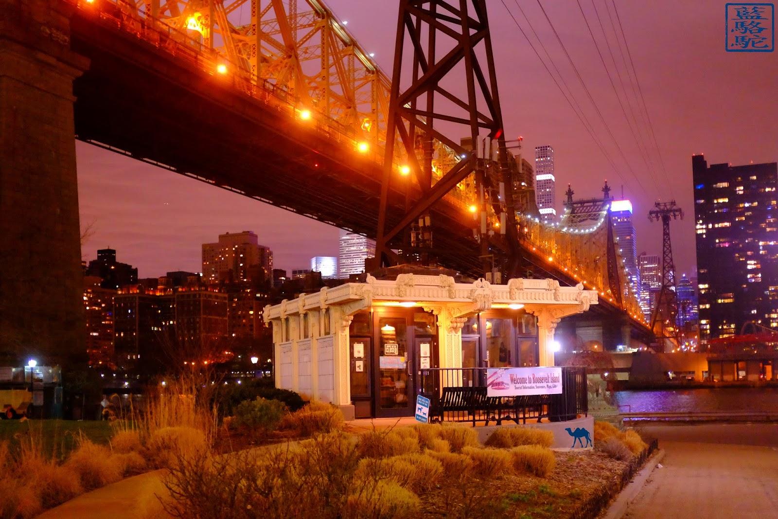 Le Chameau Bleu - New York -  Kiosque de Roosevelt Island