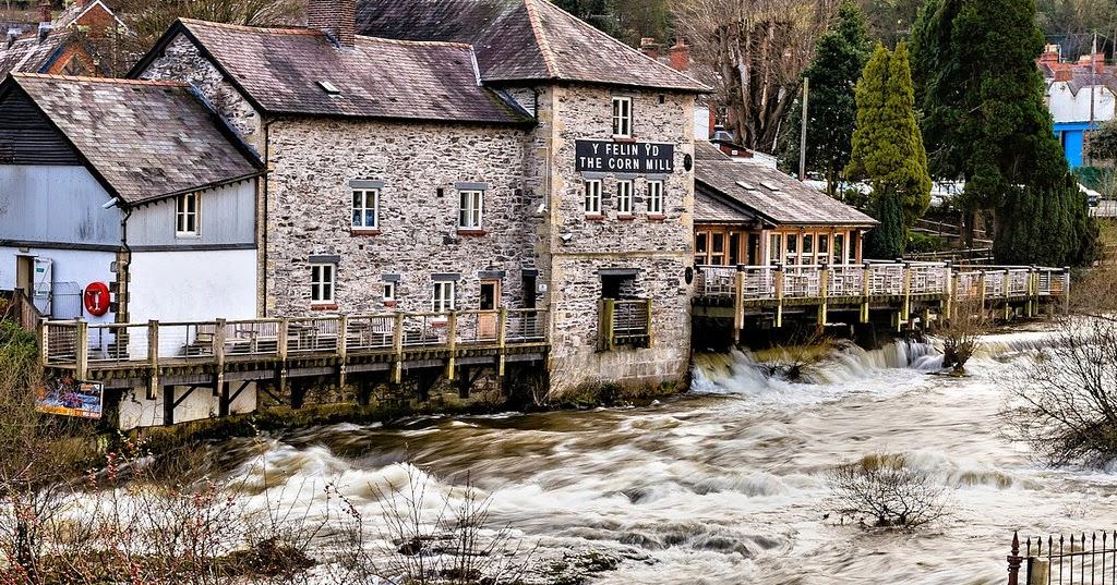 Pub in Galles: il Corn Mill di Llangollen