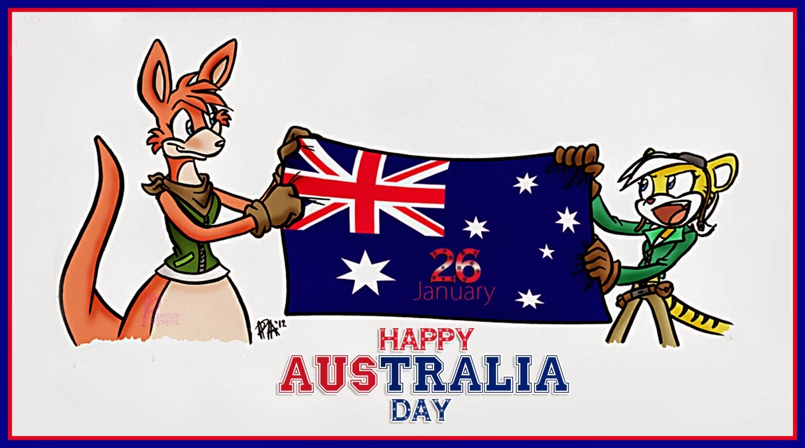 Happy australia day wishes quotes sms messages sayings 2018 australia day wallpaper 20172b2528162529 kristyandbryce Image collections