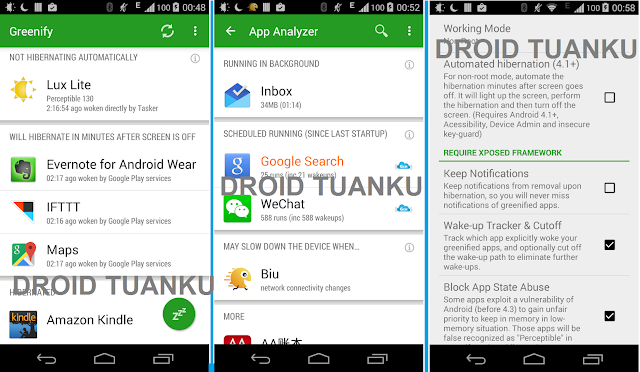 Download Greenify v3.0 Apk For Android