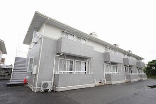 徳島市 エクセレントサンハイツ 2DK 賃貸 三軒屋 外観