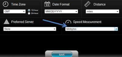 شرح قياس سرعة النت